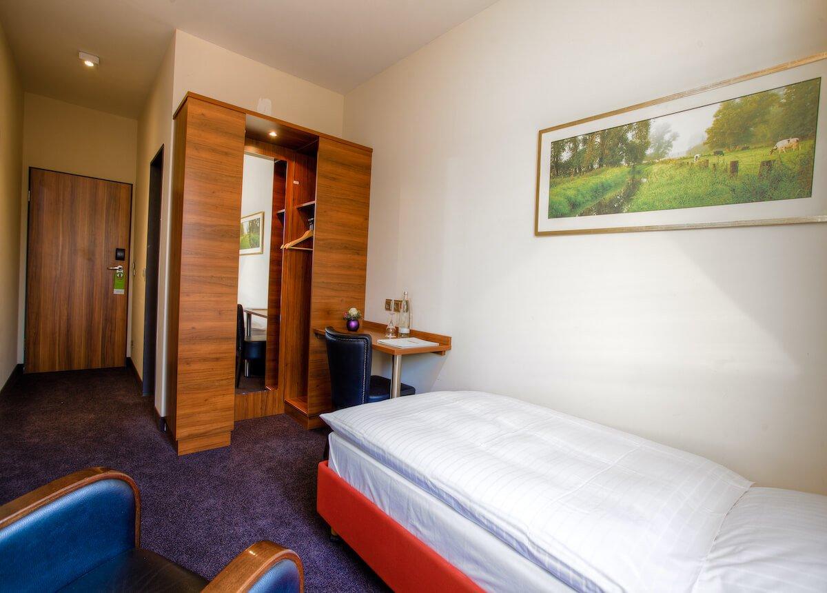 Budget Zimmer für Einzelreise im Hotel Landhaus Beckmann in Kalkar